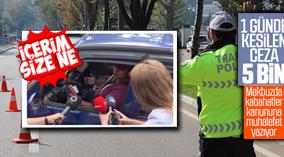 'Dumansız Araç Uygulaması'nda 5 bin 63 sürücüye para cezası