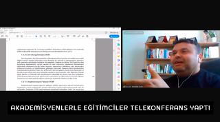 Akademisyenler Eğitimcilerle 21. Yüzyıl Becerileri ve STEM Konularında Telekonferans Yaptı