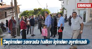 ATİLA ZORLU MAHALLE TOPLANTILARINA DEVAM EDİYOR