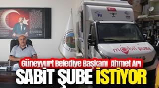 Başkan Ahmet Arı mobil PTT'nin, sabit şubeye dönüşmesini istiyor