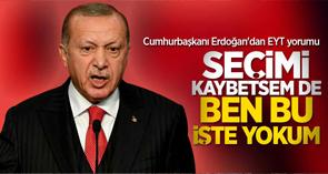 """Cuhmurbaşkanı Erdoğan'dan EYT yorumu! """"Seçimi kaybetsemde ben bu işte yokum!"""""""