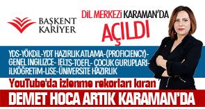 Dil Merkezi Karaman'da Açıldı !