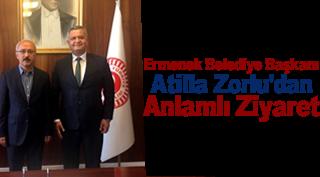 Ermenek Belediye Başkanı Atilla Zorlu'dan Anlamlı Ziyaret