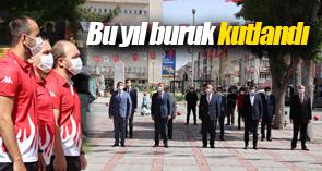 KARAMAN'DA 19 MAYIS ATATÜRK'Ü ANMA, GENÇLİK VE SPOR BAYRAMI BURUK KUTLANDI