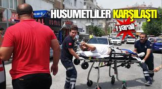 Karaman'da Bıçaklı Kavga