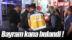 Karaman'da silahlı kavga: 1'i ağır 4 yaralı
