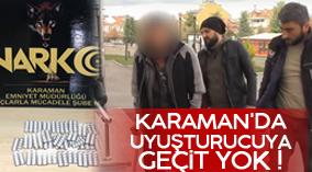 Karaman'da Uyuşturucuya geçit yok