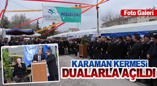 KARAMAN KERMESİ DUALARLA AÇILDI!