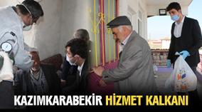 Kazımkarabekir 'de Vefa sosyal destek grubu göreve başladı