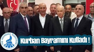 Mehmet Uçucu'dan Kurban Bayramı Mesajı