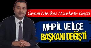 MHP'DE GÖREV DEĞİŞİKLİĞİ !