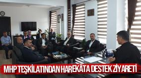 MHP teşkilatından Mehmetçiğe harekâta destek ziyareti