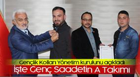 Saadet Partisi Karaman Gençlik Kolları Yönetim kurulunu açıkladı