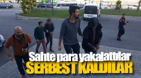 Sahte paradan adliyeye çıkarılan 2 kişi serbest kaldı