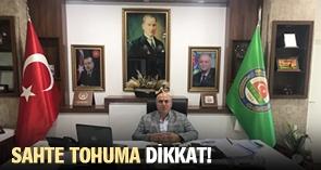 SAHTE TOHUMA DİKKAT!