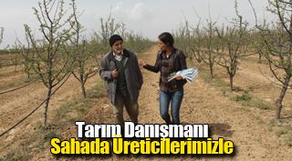 Tarım Danışmanı Sahada Üreticilerimizle
