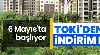 TOKİ'den indirim kampanyası!