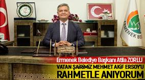 VATAN ŞAİRİMİZ MEHMET AKİF ERSOY'U RAHMETLE ANIYORUM