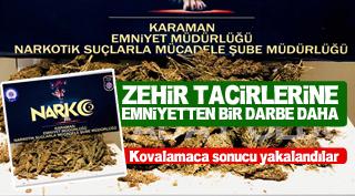 ZEHİR TACİRLERİNE BİR DARBE DAHA !